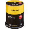 EUR 11,99 - CD-R 80 min./700 MB Intenso 52x in campana di 100 pezzi